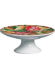 Prato Para Bolo De Cerâmica Caruaru Maison Blanche 20X8Cm - 28274
