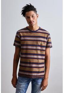 Camiseta Dupla Face Punta Sal Reserva Masculina - Masculino-Marinho