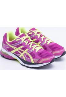 b499fe3bcb Netshoes. Calçado Tênis Sintético Pisada Neutra Running Flexível Feminino  Asics Amor Titan Flash - Gel