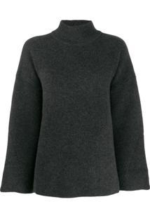 Le Kasha Suéter Antibes De Tricô - Cinza
