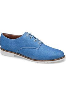 Sapato Oxford Jeans Flamarian - 201283-6 Je