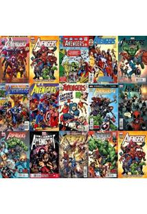 Papel De Parede Adesivo Revistas Marvel (0,58M X 2,18M)