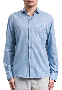 Camisa Salt35G Rustica Azul