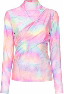 Sies Marjan Blusa Tie Dye Com Brilho - Estampado