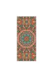 Adesivo Decorativo De Porta - Mandala - 2422Cnpt