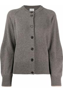 Paul Smith Cardigan Com Abotoamento - Marrom