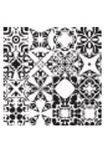 Adesivo De Azulejo Preto E Branco Évora 15X15 Cm 36Un