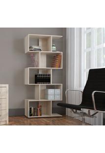 Armário Para Livros Com 5 Nichos Bliv - Grigio - Multistock
