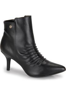 Ankle Boots Via Uno Enrugado