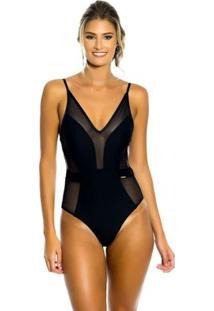Body Premium Kalini Beachwear - Feminino-Preto