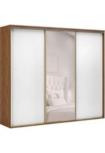 Guarda-Roupa Casal Com Espelho Inovatto L 3 Pt 6 Gv Álamo