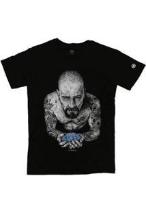 Camiseta Stoned Walter White Masculina - Masculino-Preto