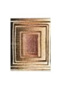 Tapete Marbella Botticelli Retangular (200X250Cm) Preto E Creme