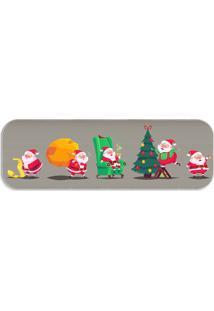 Passadeira Love Decor Multi Papai Noel Cute Único - Kanui