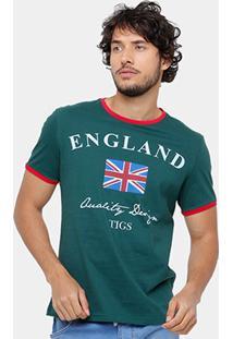 Camiseta Tigs England Masculina - Masculino