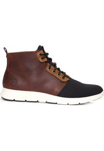 Bota Masculina Killington Fabric And Leather Wheat - Marrom