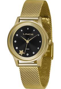 Kit Relógio Feminino Lince Lrgh122L-Kx02P1Kx Analógico 5Atm + Pulseira