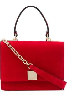 Casadei Bolsa Tiracolo Com Placa De Logo - Vermelho