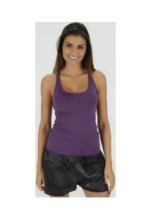 327e06ab75213 Ir para a loja  Camiseta Regata Oxer Skin - Feminina - Roxo Escuro