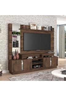 Estante Home Para Tv Até 46 Polegadas Veneza Siena Móveis Café