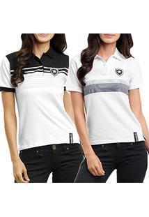 9f722e8fee Camisa Pólo Botafogo Poliester feminina