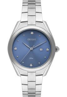 Relógio Orient Eternal Feminino Analógico Fbss1174 Prata Com Caixa Em Aço E Pulseira Em Aço