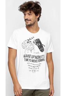 Camiseta Colcci Energy Masculina - Masculino-Branco