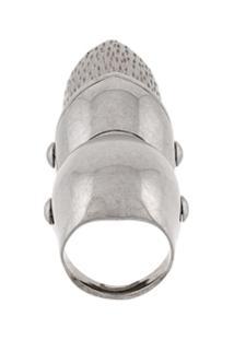 Balenciaga Anel Articulado - Metálico