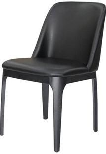 Cadeira Versailes Courissimo Preto Base Preta - 59544 - Sun House