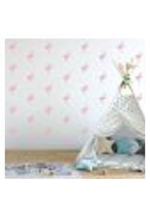 Adesivo Decorativo De Parede - Kit Com 40 Flamingos - 035Kaa14