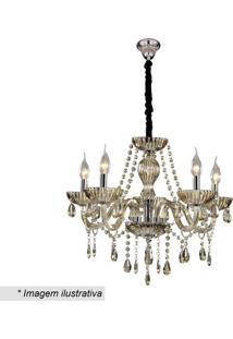 Lustre Glass- Dourado- 25X46X49Cm- Bivolthevvy