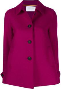 Harris Wharf London Button-Up Jacket - Rosa
