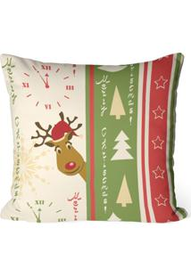 Capa De Almofada Love Decor Avulsa Decorativa Merry Christmas - Kanui