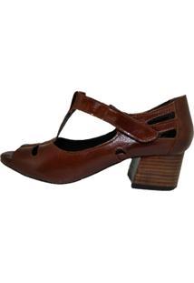 Sandália Comitiva Boots Florença Conhaque