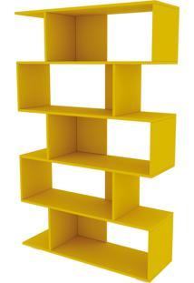Estante Twister Amarelo Tcil Móveis