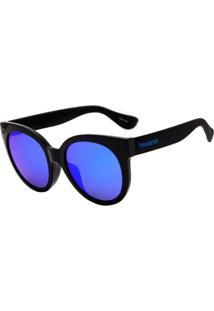 Óculos Havaianas Noronha G Preto/Azul - Kanui