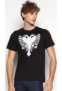Camiseta Cavalera Estampada Manga Curta - Masculino