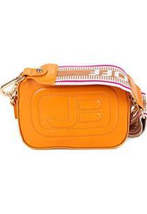 Bolsa Couro Jorge Bischoff Mini Bag New Pápicra Feminina - Feminino-Amarelo