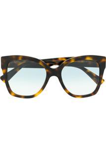 17a4ed51c R$ 2132,00. Farfetch Gucci Eyewear Óculos De Sol Quadrado - Marrom