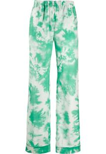 Alanui Calça Pantalona - Verde