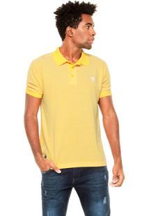 Camisa Polo Mr. Kitsch Light Amarela