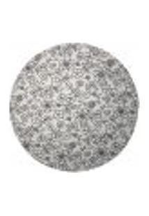 Sousplat Para Prato Suporte De Mesa Decorativo Branco Floral 30 Cm - D'Rossi