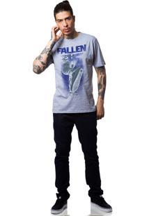 Camiseta Fallen Flip Preto/Mescla