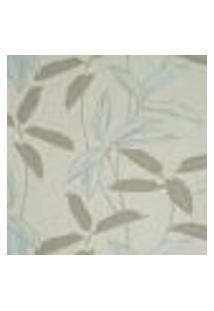 Papel De Parede Italiano Naturae 304-72 Vinílico Com Estampa Contendo Folhagem, Aspecto Têxtil, Moderno
