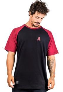Camiseta Alfa Raglan Stapple - Masculino