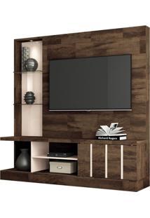 Estante Home Theater Para Tv Até 55 Pol. Eleve Deck/Off White - Hb Móveis