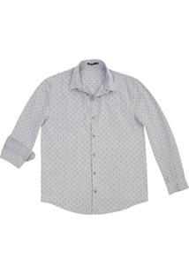 Camisa Masculina Regular Em Tecido De Algodão Hering
