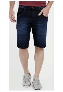 Bermuda Masculina Jeans Bolsos Biotipo