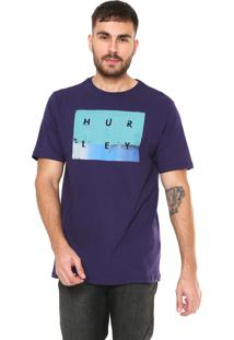 Camiseta Hurley Break Sets Roxa