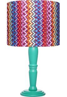 Abajur Carambola Talia Colorido - Multicolorido - Dafiti